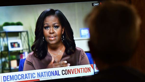 Trump hits back at Michelle Obama after searing DNC speech, says he 'would not be here' if not for her husband