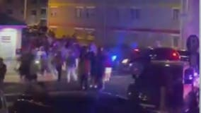 Police break up massive crowd outside former MTV Jersey Shore house