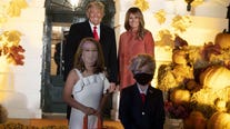 Mini President Trump, Melania costumes highlight Halloween at White House amid COVID safety tweaks