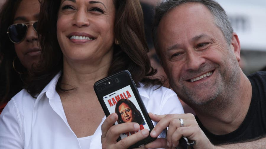 Gender role switch: Kamala Harris's husband steps back from career to help wife