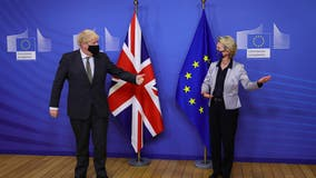 UK and EU reach historic post-Brexit trade agreement