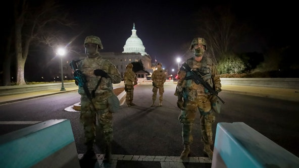 New York-area National Guard units assisting with inauguration security