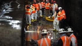 A look inside a crumbling Hudson River rail tunnel | VIDEO