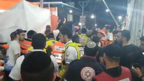More than 40 people killed in stampede at religious festival in Israel