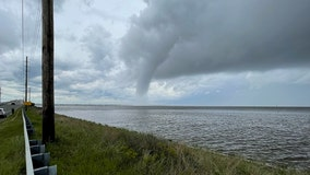 VIDEO: Massive waterspout over Jersey Shore's Barnegat Bay