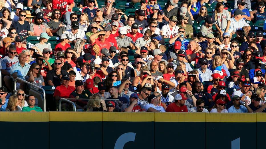 MLB: JUN 15 Red Sox at Braves