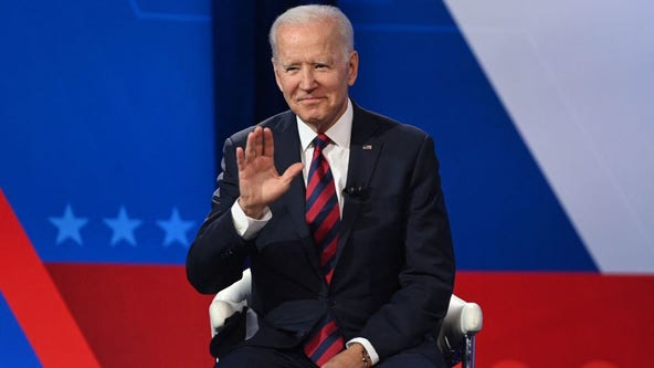 Biden says pandemic goes on for unvaccinated, shots 'gigantically important'