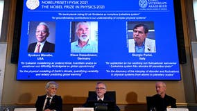 Nobel Prize for physics goes to 3 for climate discoveries