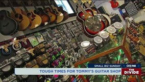 Small Business Sunday: Tough times for Tommy's Guitar Shop in Everett