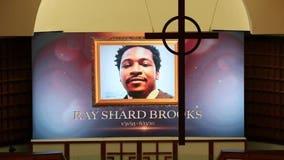 Funeral for Rayshard Brooks at historic Ebenezer Baptist Church