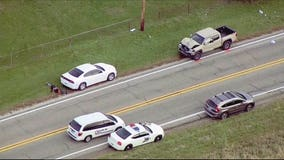 3 siblings fatally struck at Indiana school bus stop; 24-year-old driver arrested