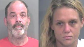 Arkansas couple arrested after 1-year-old tests positive for meth