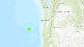 5.9-magnitude earthquake strikes off Oregon coast; 2nd large quake in a week