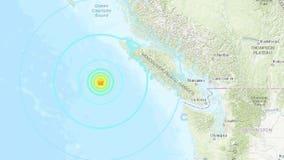 3 powerful earthquakes strike near Port Hardy, Canada