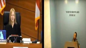 Video shows judge berating sick woman during hearing