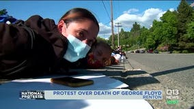 George Floyd Protesters in Renton leave feeling empowered