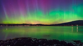 You could see the northern lights Monday night