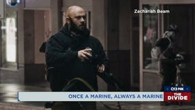 Marine veteran who disarmed rioters: 'There was only one thing I could do'