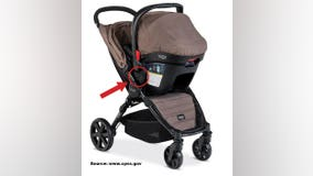 Britax strollers recalled for injury risk