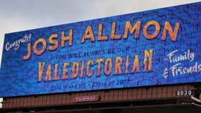 North Carolina dad buys billboard for son after school doesn't recognize him as valedictorian