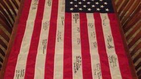 Washington man asks for help finding fallen son's flag