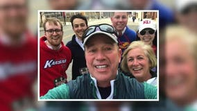 One year later: 5K heart attack survivor crosses finish line with med students that saved his life