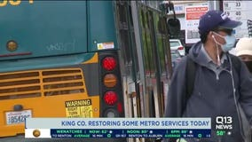 King County Metro Transit resumes dozens of previously canceled routes