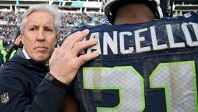 Seahawks' Kam Chancellor, Frank Clark won't play against Falcons