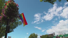 Community responds after dozens of pride flags stolen in downtown Burien