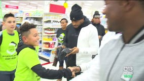 Surprise shopping spree for underserved kids