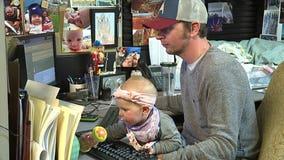 'Infants at Work' program made permanent at WSDOT
