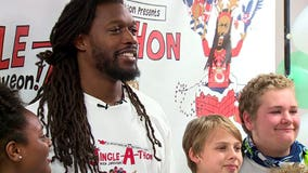 'I didn't come up easy': Seahawks DE Jadeveon Clowney delivers holiday surprise for kids in Tukwila