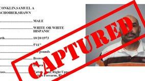 CAPTURED: Samuel Conklin arrested by Western District of Washington Fugitive Task Force