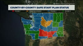 King County approved for Phase 2 reopening; several counties move to Phase 3