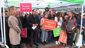 Rallying business owners, neighbors demand city leaders do more to remove crime
