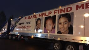 20 years later, truck displays a renewed push to find Teekah Lewis