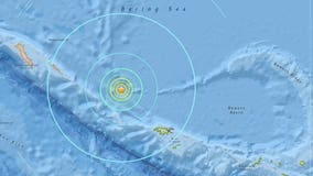 Magnitude 6.8 earthquake rattles Alaska's west Aleutian Islands