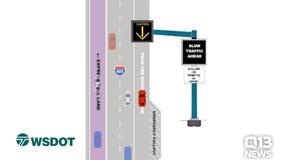 WSDOT's peak-use shoulder lane on I-405 opens Monday