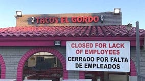 Popular San Diego taco shop closes due to 'lack of employees'