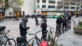May Day protests deemed 'riots' in Portland and Olympia; only 5 arrests in Seattle