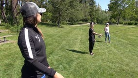 Out & About: Fly Fishing with Reign FC Lauren Barnes and Jess Fishlock
