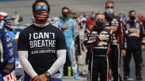 FBI investigating noose left in NASCAR stall of Black driver