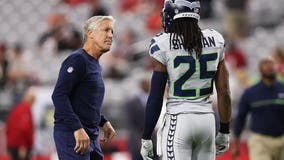 Carroll says Seahawks have had talks about trading Sherman, but 'I don't see anything happening'