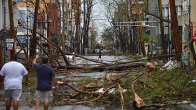 Maria destroys homes and triggers flooding in Puerto Rico, lashes Dominican Republic