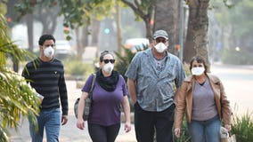 Does wearing a face mask protect from wildfire smoke?