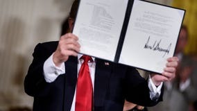 Trump signs directive to clean up space junk; asks Pentagon to create 'Space Force'