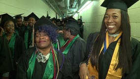 Grandmother and granddaughter graduate from college together – with honors