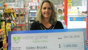 Text leads to Mega Millions win for Virginia woman