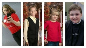 Police from Ohio to Florida searching for four missing children