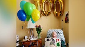 Woman marks 100th birthday after surviving COVID-19, beating cancer and living through WWII